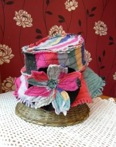 Recycled Hat.