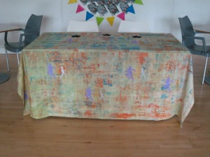 Really pleased with the completed tablecloth.