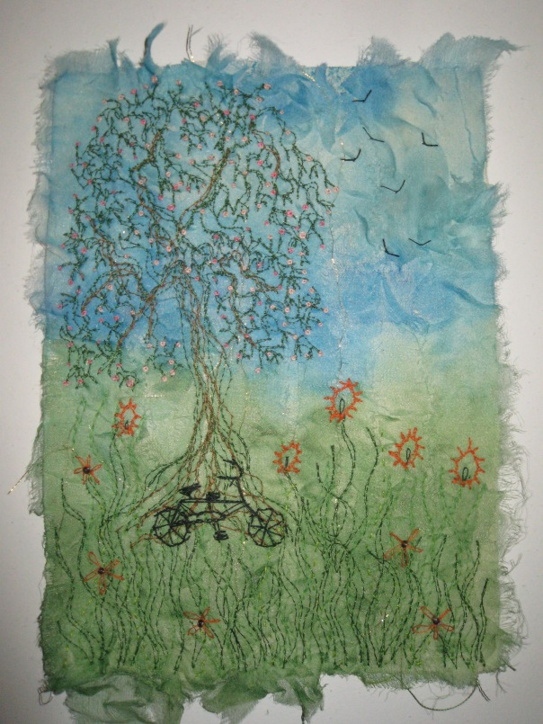 Elizabeth Saunders 'Up the Tree'